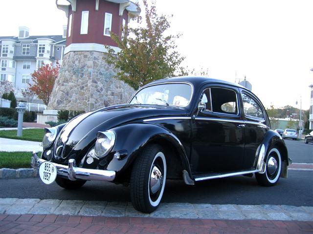 1957 vw beetle bug oval sedan midnight classic vw for 1957 oval window vw bug