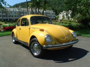 1972 Semi Auto Vw Bug Yellow Super Beetle Classic Vw
