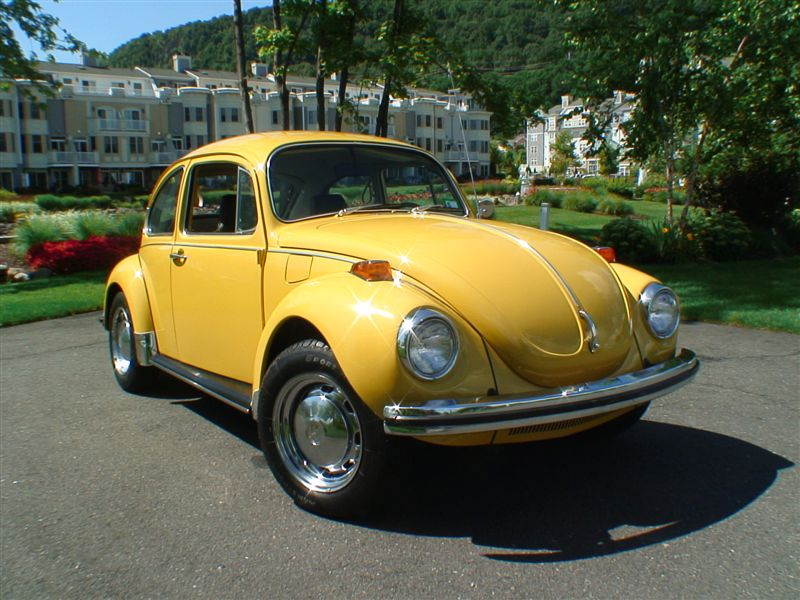 1972 Semi Auto VW BuG Yellow Super Beetle | Clic VW Beetles ...