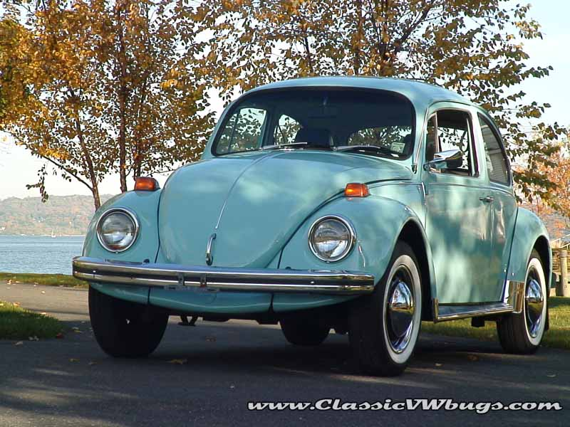 1971 VW Beetle BuG Baby Blue Sedan | Classic VW Beetles & BuGs Restoration Site by Chris Vallone
