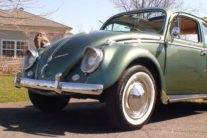 1958 Evergreen VW Beetle Ragtop BuG