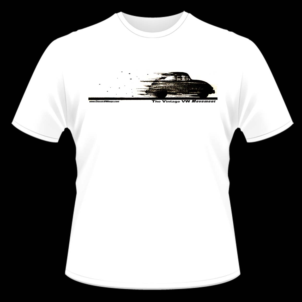 classic vw bugs t shirt ideas round 2 this time on white classic vw beetles bugs. Black Bedroom Furniture Sets. Home Design Ideas