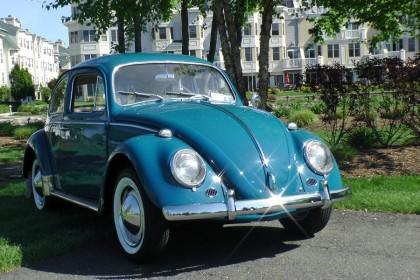Classic Vintage 1964 VW Volkswagen Beetle Bug Sedan Sea Blue | Classic VW Beetles & BuGs ...