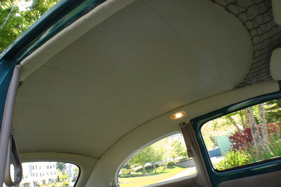 Classic VW BuGs How to Install Multi-Piece Headliner Parts 1