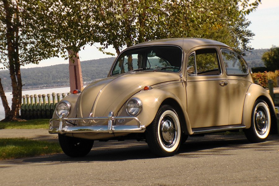 A Chris Vallone Classic 1967 Vw Beetle Bug L620 Savanna