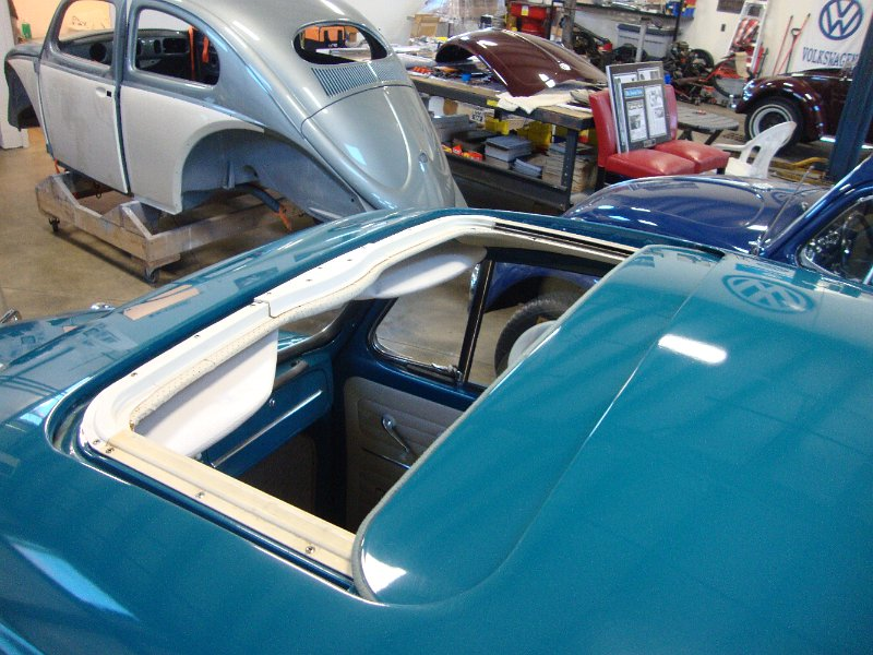 » Classic 1966 VW Beetle BuG Sea Blue Sunroof Vintage Sedan SOLD! : Classic VW Beetles & BuGs ...
