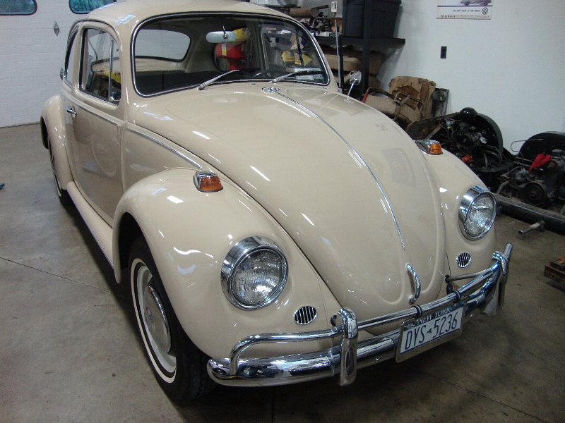 vintage classic 1967 savanna beige vw volkswagen beetle bug for sale classic vw beetles. Black Bedroom Furniture Sets. Home Design Ideas