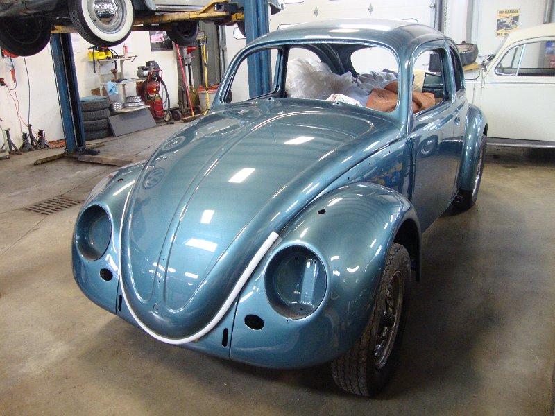 Classic VW BuGs Project 1958 Vintage Beetle Sedan Body off *Build-A ...