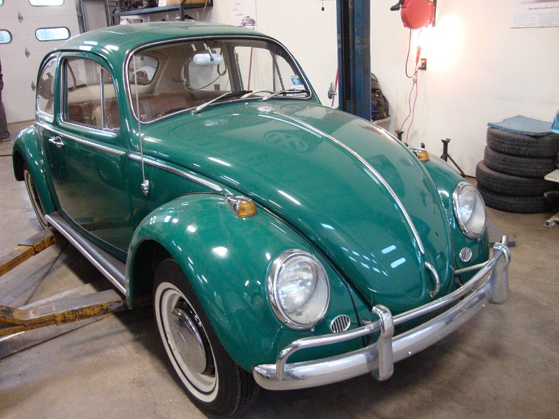 Clic Vw Bugs 1966 Sunroof Beetle Java Green Vallone Project