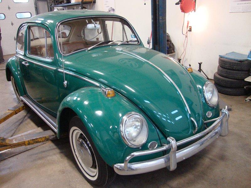 187 Classic Vw Bugs 1966 Sunroof Beetle Java Green Vallone