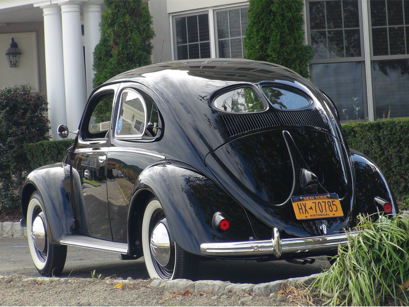 Classic vw bugs 1951 split window crotch cooler beetle for 1951 volkswagen split window