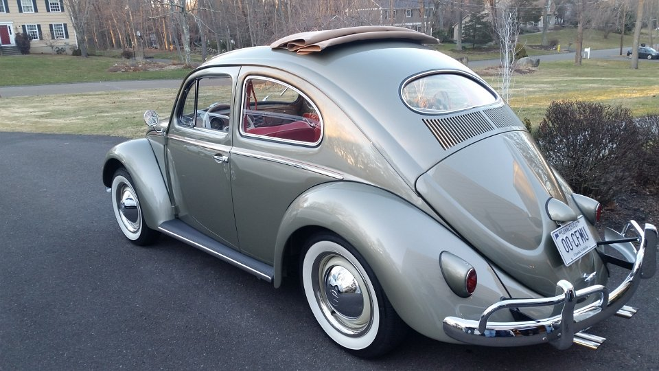 Clic Vw Bugs 1957 Build A Bug Beetle Ragtop For Jr From Nc