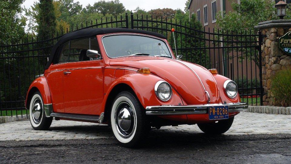 » Classic VW BuGs 1970 Convertible Clementine Orange ...