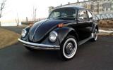 1971 Black Standard VW Beetle Bug Semi Auto