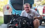 Classic VW Bugs Fan – Larry Franklin from Florida & his 1966 Beetle