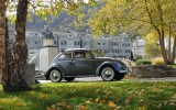 Classic VW BuGs Project Completed, a 1954 Strato Silver Sunroof Oval
