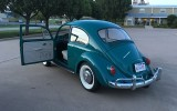 Alex, a follower of Classic VW BuGs shows off his work of a 1967 Beetle