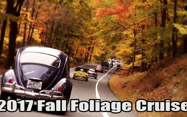 Classic VW BuGs 2017 Fall Foliage Air-Cooled Cruise is Saturday October 28th!