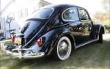 Classic VW BuGs Lucky Larrys Black Beauty Beetle SOLD!