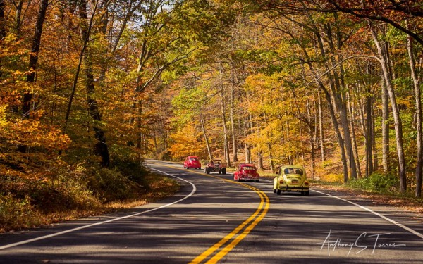 Classic VW BuGs 2017 Fall Foliage Air-Cooled Cruise Event Video & Photos!