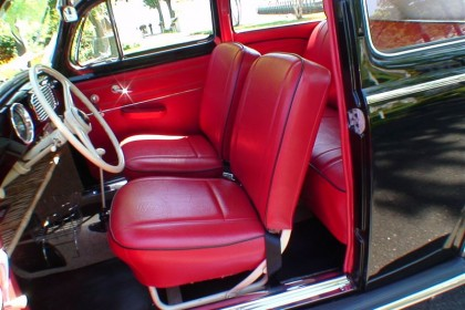 Classic vw beetles bugs restoration site by chris vallone 1954 lil buddy interior freerunsca Images